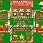 Christmas Kindergarten Bundle ~ Printables & Game Cards Pr