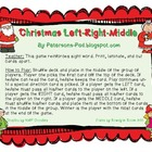 Christmas Left Right Middle Sight Word Fun {FREEBIE}