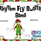 Christmas Lights Fly Swatter Rhythm Game SMART Board