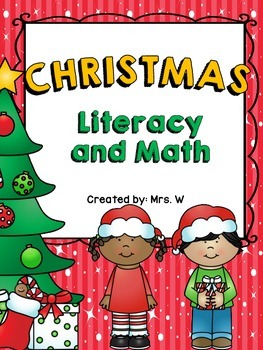 Christmas Literacy and Math