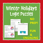 Christmas Logic Puzzle, Bellringer, Critical Thinking Puzzle