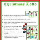 Christmas Lotto