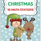 Christmas Math {10 Work Stations}