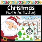 Christmas Math Activities for Pre-K