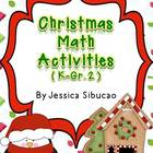 Christmas Math Center Activities (K-Gr.2)