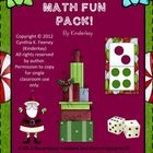Christmas Math  Fun Pack