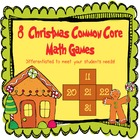 Christmas Math Games (Common Core)