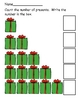 Christmas Math - Numbers and Counting