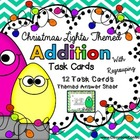 Christmas Math Task Cards {Addition with Regrouping}