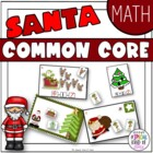 Christmas Math Work Stations - Aligned to Common Core