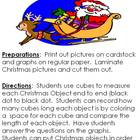 Christmas Measuring using non-standard measuring