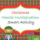 Christmas Mental Multiplication Activity