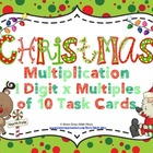 Christmas Multiplication (1 Digit x Multiples of Ten CCSS
