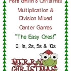 Christmas Multiplication & Division Mixed Center Games The