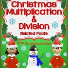 Christmas Multiplication & Division: Related Facts 16 Work