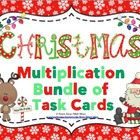 Christmas Multiplication Task Card Bundle