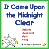 Christmas Music: It Came Upon a Midnight Clear Song, Lyric