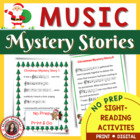 Christmas Mystery Stories for Music Students