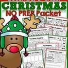 Christmas NO PREP Packet (1st Grade)