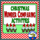 Christmas Number Comparing Activities PowerPoint