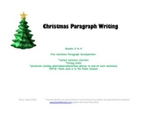 Christmas Paragraph Writing