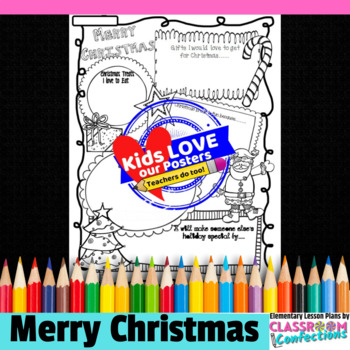 Christmas Poster Activity