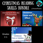Christmas PowerPoint Bundle - ELA Standards Based Lessons