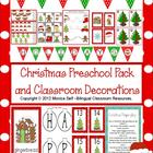 Christmas Preschool Pack and Classroom Decorations