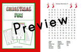 Christmas Puzzles, Poetry, and  Fun