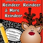 Christmas - REINDEER - Interactive Journal, Task Cards, and More