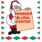 Christmas Reindeer Plural Center {Common Core Compliant}