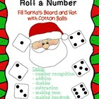 Christmas Santa Roll a Number