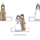 Christmas Story Nativity Finger Puppets Style 2