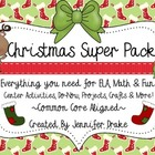 Christmas Super Pack! ELA & Math activities & centers, poe