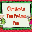 Christmas Ten Frame Fun