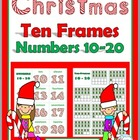 Christmas Ten-Frames Matching Game (Numbers 10-20)