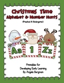 Christmas Time - Alphabet and Number Hunt Pack