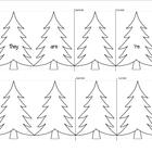 Christmas Tree Contractions - A Fun Folding Activity