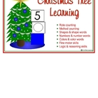 Christmas Tree Learning file folder games