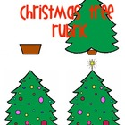 Christmas Tree Rubric Visual For Kids