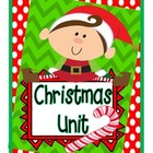 Christmas Unit: Christmas Activities, Christmas Games and