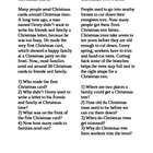 Christmas Vocabulary & Non-Fiction Listening Comprehension