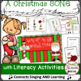 Christmas Song: Way Up at the North Pole! Singable & MORE! {CCSS}