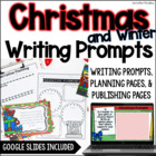 Christmas Winter Common Core Writing: Opinion, Informative