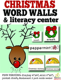 Christmas Word Wall Cards {includes 54 words}