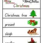 Christmas Word Wall - Literacy Resource - 8 pages