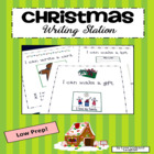 Christmas Writing Station for Kindergarten