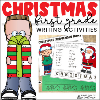 Christmas Writing for Firsties