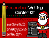 Christmas and December Writing Prompts and Papers