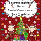 Christmas and Winter Themed Reading Comprehension Book Cra